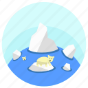 arctic, cold, north, polar, polar bear icon
