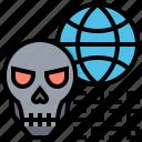 code, data, error, hack, virus