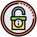 data, hacking, protection, security, system icon