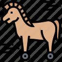 hacker, horse, malware, trojan, virus