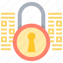 data, key, protection, security icon