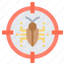 antivirus, bug, scan, search, virus icon