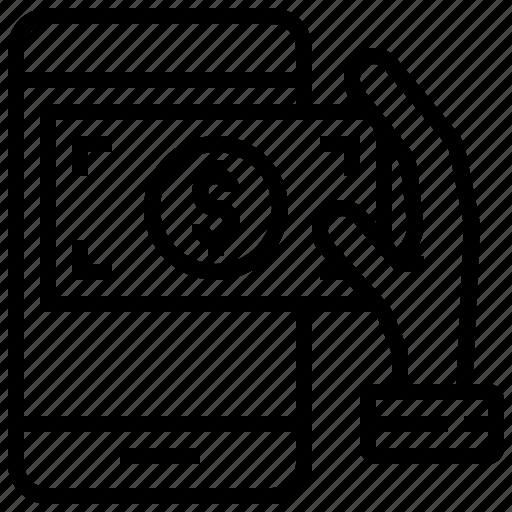 Banking, crime, hack, money, online icon - Download on Iconfinder