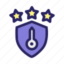 hacker, key, protection, quality, rate, security icon
