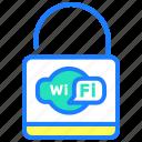 lock, password, protected, security, wifi, wireless