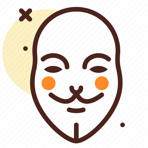 anonymous, hacker, mask, thief, unknown icon