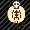 airport, anatomy, body, bones, character, scan, virus icon
