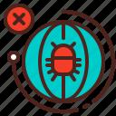 bug, earth, globe, infection, virus