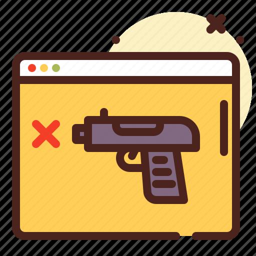 gun, order, shop, terrorism icon