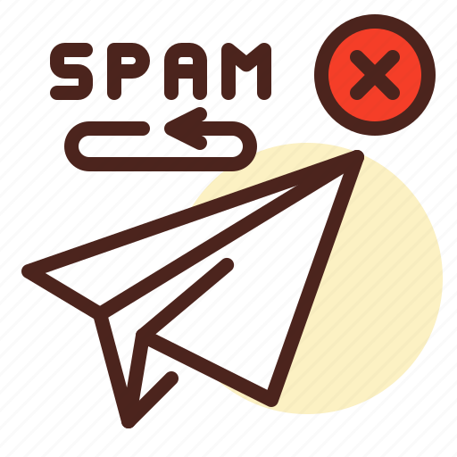Email, forward, return, send, spam icon - Download on Iconfinder