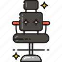 armchair, barber, chair, furniture icon