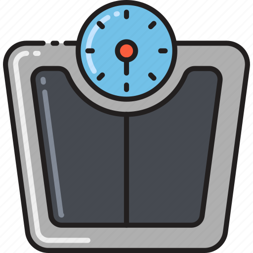balance, bathroom, measure, measurement, scale, weight icon