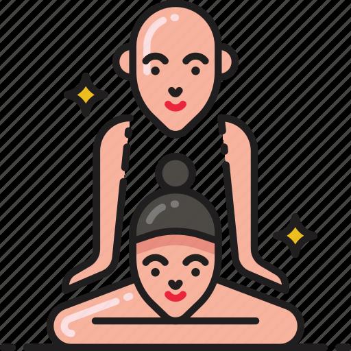 body, massage, spa, therapy, treatment icon