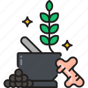 detox, ginseng, herbal, herbs, medication icon