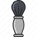 brush, grooming, men, shave, shaving icon