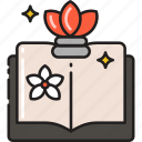 beauty, education, knowledge, learning, makeup, school, study icon
