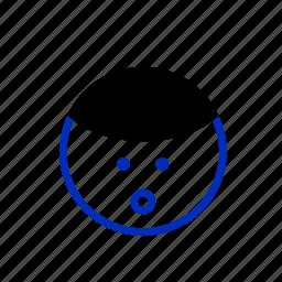 cartoon, emoticons, face, fringe, happy, smile, smiley icon