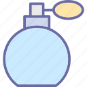 bottle, fragrance, perfume, perfume bottle, scent icon