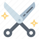 barber, hair, hairdresser, scissors icon