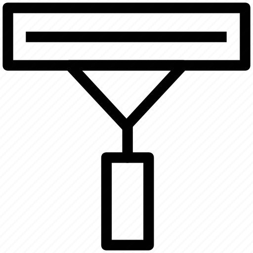 double edge razor, razor, safety razor, salon accessories, shaving icon