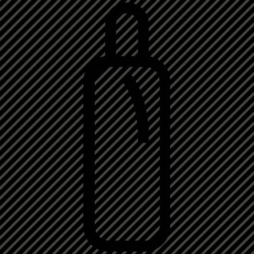 bottle, hair care, hair oil, hair salon, hair tonic, shampoo icon