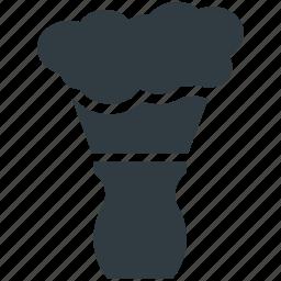 barber brush, neck brush, shave, shave brush, shaving brush icon