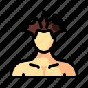 barber, cut, hair, hairstyle, man, punk, retro