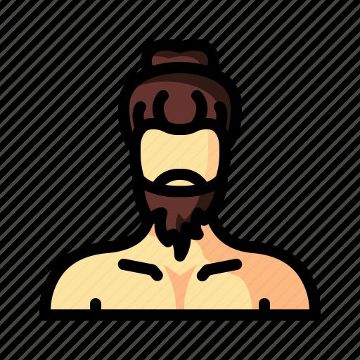 barber, beard, hair, hairstyle, hipster, man, retro icon
