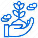 care, ecology, grow, plant icon