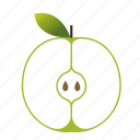 apple, dessert, food, fruit, healthy, juice icon