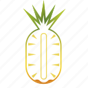 diet, fruit, healthy, pineapple, tropical icon