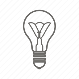 bulb, electric, energy, idea, lamp, light icon