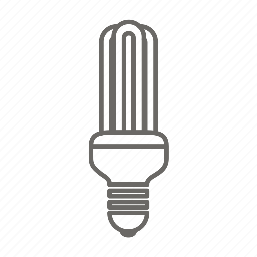 Bulb, electric, electricity, energy saver bulb, lamp, light, power icon - Download on Iconfinder