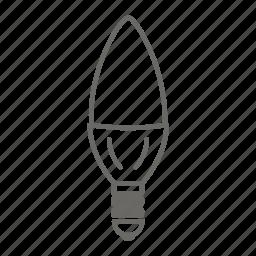bulb, electric, energy, lamp, led lamp, light icon