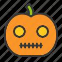 halloween, horror, jack o' lantern, monster, pumpkin, scary, spooky