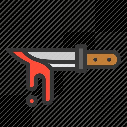 halloween, knife, sharp, weapon icon