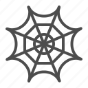 cobweb, halloween, spider web, spooky, trap, web icon
