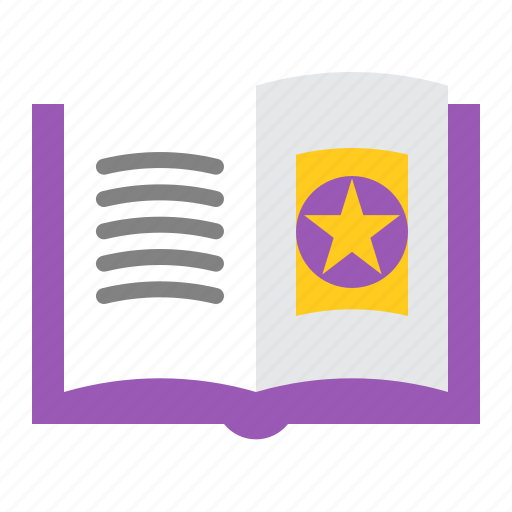 book, education, halloween, knowledge, magic book, spellbook, study icon