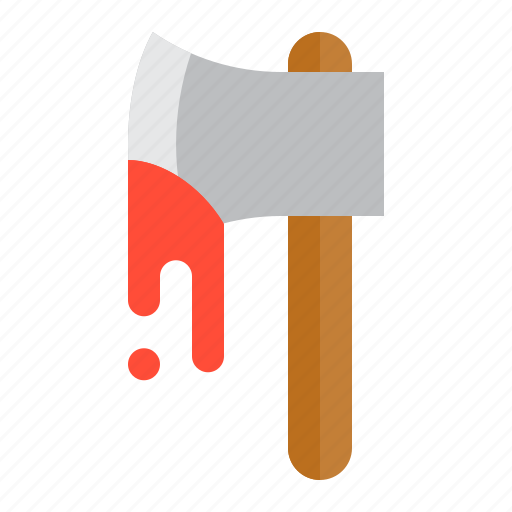 axe, halloween, hand axe, hatchet, tool, weapon icon