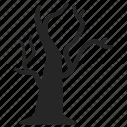 halloween, tree icon