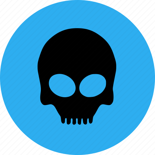 Bone, halloween, scary, skull icon - Download on Iconfinder