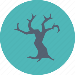 halloween, scary, spooky, tree icon