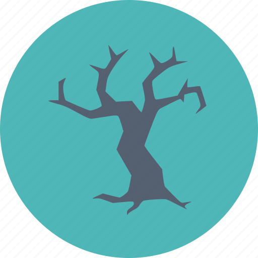 Halloween, scary, spooky, tree icon - Download on Iconfinder