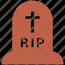 cemetery, grave, halloween, rip