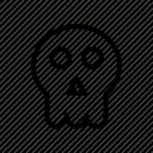 ghost, halloween, horror, pumpkin, skull, spooky icon