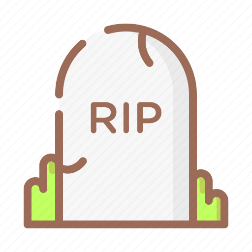 death, grave, halloween, horror icon