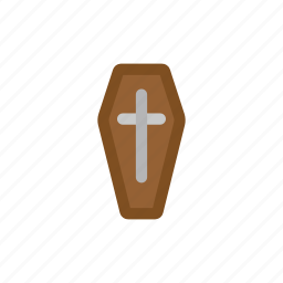 coffin, coffinfill, dead, halloween, vampire icon