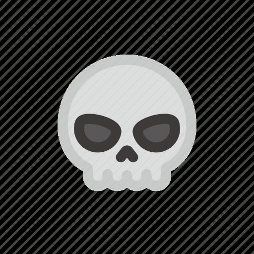 dead, halloween, head, lethal, skull, skullfill icon