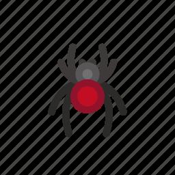 halloween, poison, spider, spiderfill, widow icon