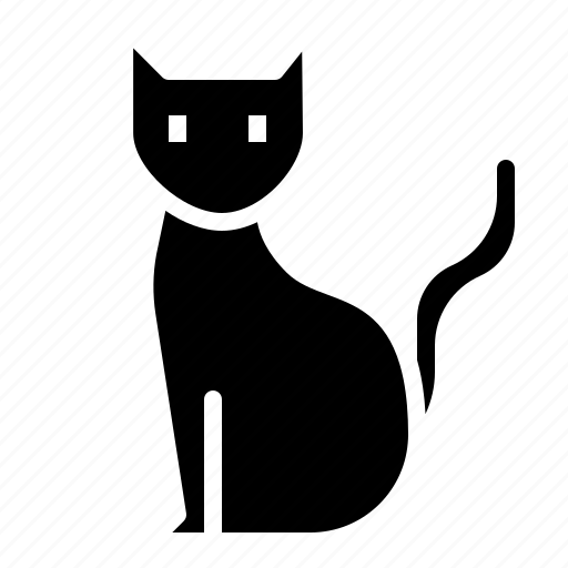 cat, halloween, kitten, scary icon